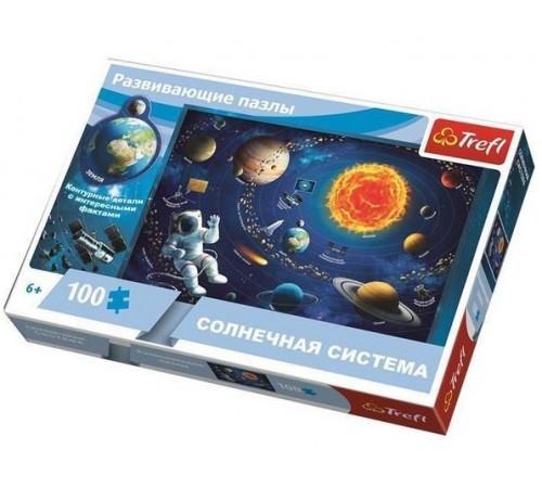 "trefl15529 puzzle educaționale ""sistem solar"" (100 el.)"