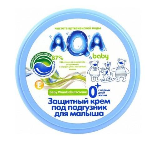 80.15 aqa baby crema de protectie sub  scutec (100 ml.)