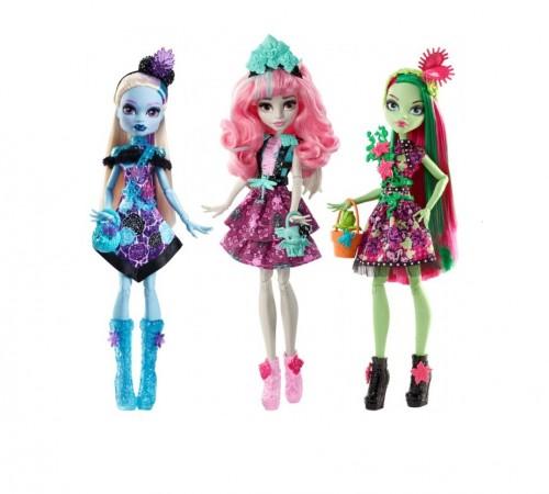 """monster high fdf11 Кукла """"Цветочная вечеринка""""  в асс. (3)"""
