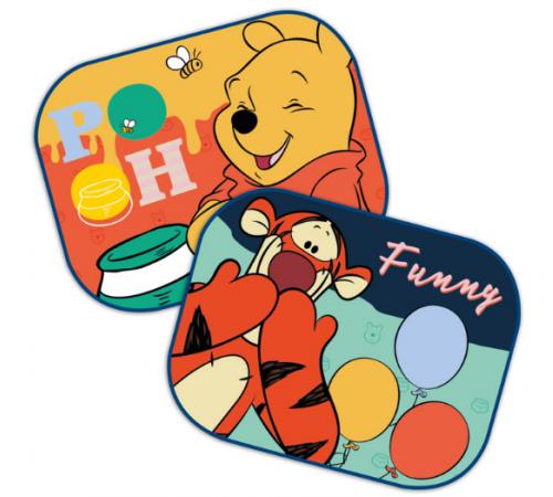"""seven 9329 Защитная шторка от солнца """"winnie the pooh"""" (2 шт.)"""