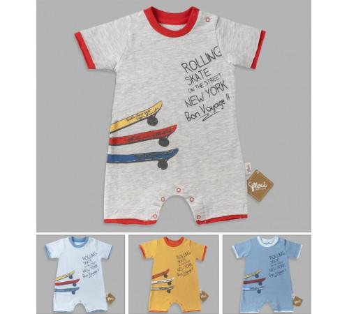 Одежда для малышей в Молдове flexi 236255 Песочник (62-68-74 см.) в асс.