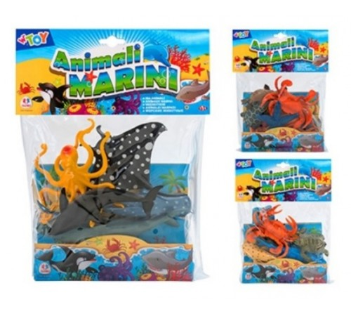 "globo 38463 set de joc w'toy ""animale marine"""