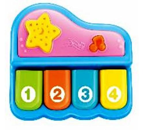 """Jucării pentru Copii - Magazin Online de Jucării ieftine in Chisinau Baby-Boom in Moldova baby mix pl-430131 jucărie muzicală """"pian"""" albastru"""