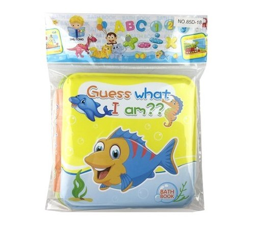 "op МЛЕ1.188 Книга для купания ""Угадай, кто я?"""