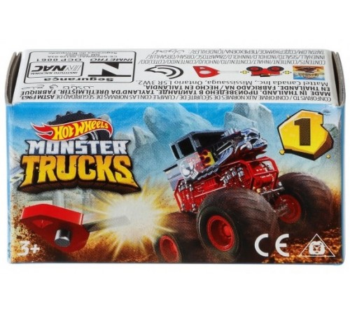 "hot wheels gbr24 masina suv seria ""monster trucks"" in sort."