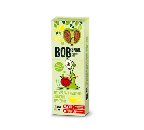 Детское питание в Молдове Натуральные конфеты яблочно-лимонные bob snail 30 г