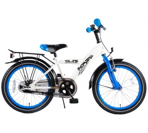 "volare 81820 Велосипед ""thombike 18"" белый/синий"