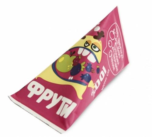 """Детское питание в Молдове """" Маленькое счастье """" . Пюре """"Фрути"""" яблоко-лесные ягоды 65 г (3+)"""