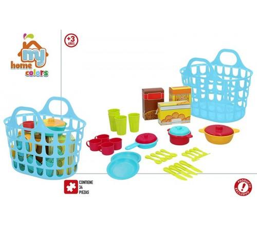 Детскиймагазин в Кишиневе в Молдове color baby 28763 kорзинa с посудой