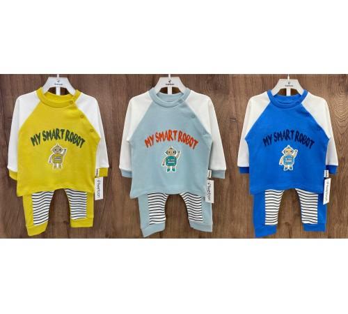 Одежда для малышей в Молдове twetoon baby 117235 Комплект 2 ед. (р. 68-74-80) в асс.