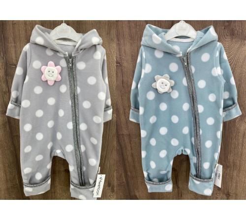 Одежда для малышей в Молдове twetoon baby 115071 Комбинезон флисовый (р. 56-62-68) в асс.