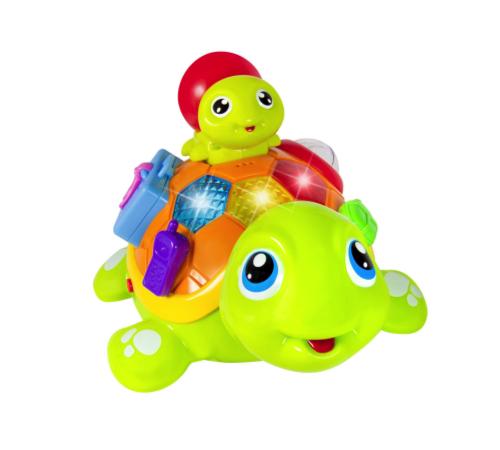 "Jucării pentru Copii - Magazin Online de Jucării ieftine in Chisinau Baby-Boom in Moldova hola toys 868  jucarie muzicala ""turtle"""