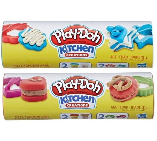"play-doh e5100 set de plastilină ""mini-dulciuri"" în sort"