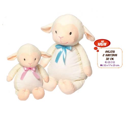 artesania beatriz 10576 Мягкая игрушка Овечка 32 см