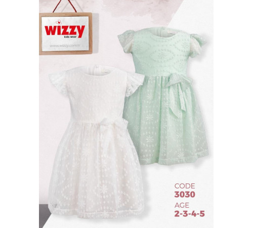 Одежда для малышей в Молдове wizzy 3030 Платье (2-3-4-5 лет.) в асс.