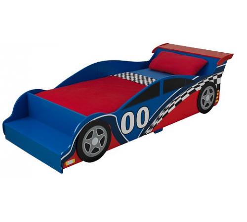 kidkraft 76038 Детская кровать racecar