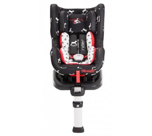 chipolino scaun auto isofix rider gr.0+1(0-18 kg.) negru-alb
