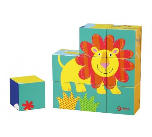 Детскиймагазин в Кишиневе в Молдове classic world 3545 Деревянные кубики с животными