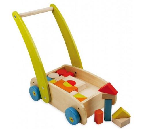baby mix tp-52343 Каталка с деревянными блоками