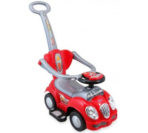 baby mix ur-hz558w Машина-толокар Красная