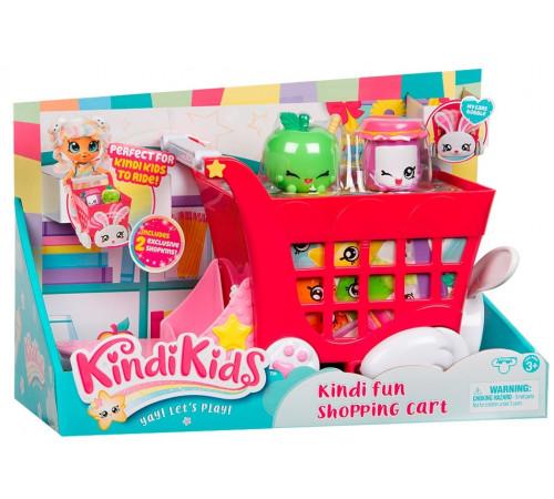 """kindi kids kdk50001 set de joacă """"cărucior pentru supermarket cu accesorii"""""""