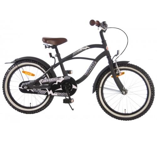 "volare 31802 Велосипед ""cruiser black 18"" чёрный"