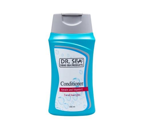 dr.sea.55 Кондиционер для всех типов волос с кератином и витамином Е (400 мл.)  501293