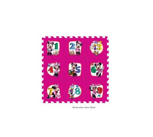 stamp tp863001 Коврик Цифры  с персонажами disney