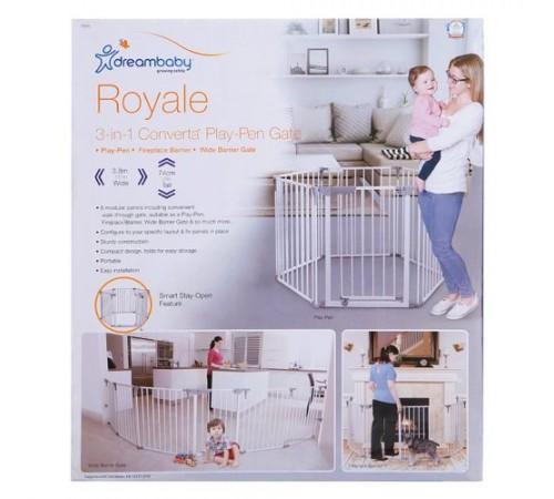 """dreambaby f849 porțile de siguranță-tarc 3-в-1 """"royale converta"""" (380 cm.) alb"""