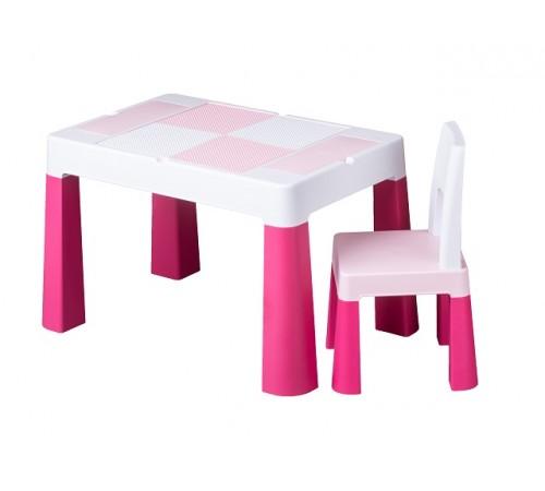 tega baby Столик и стульчик  multifun mf-001-123 розовый