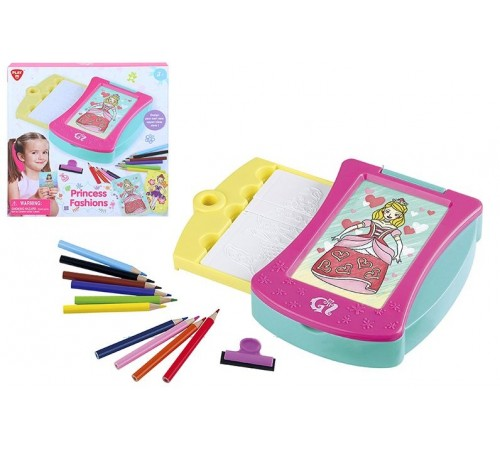 "play go 46421 Набор для рисования ""princess fashions"""