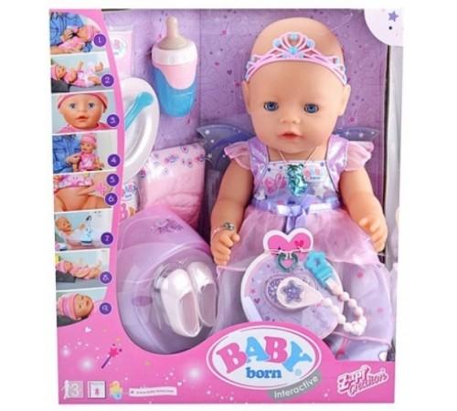 """zapf creation 826225 păpușă interactivă baby born """"zână"""""""