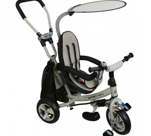 "baby mix ws-611 Трицикл ""360"" серый"