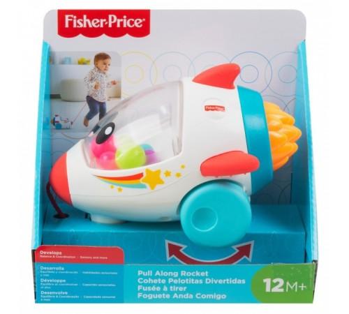 """fisher-price gcv74 Игрушка-каталка """"Веселая ракета"""""""