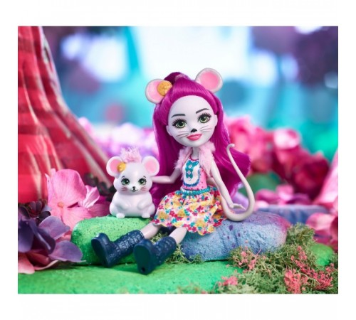 "enchantimals fxm76 Кукла ""Мышка Майла"""