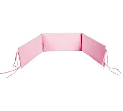 klups Бортик на кроватку универсальный розовый