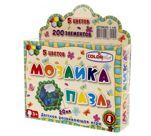 colorplast 1144 Мозаика-пазл №4 (200 дет.)