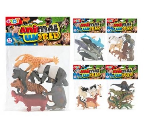"""globo 40424 Игровой набор w'toy """"Дикие животные"""""""