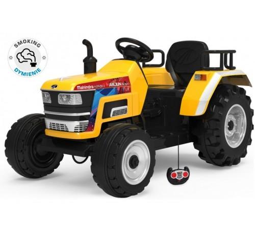 baby mix ur-hl2788 Трактор на аккумуляторе жёлтый