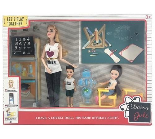 """Детскиймагазин в Кишиневе в Молдове op ДЕ01.293 Игровой набор с куклой """"Школа"""""""