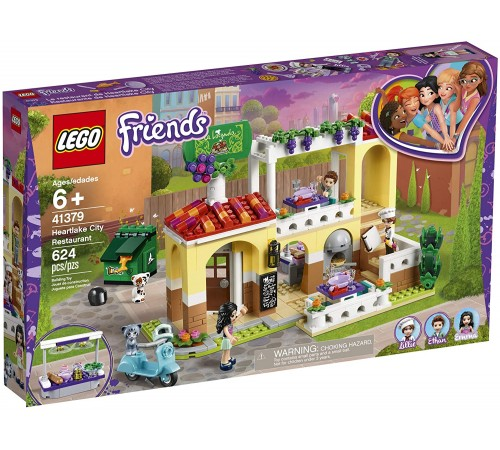 "lego friends 41379 Конструктор ""Ресторан Хартлейк Сити"" (624 дет.)"