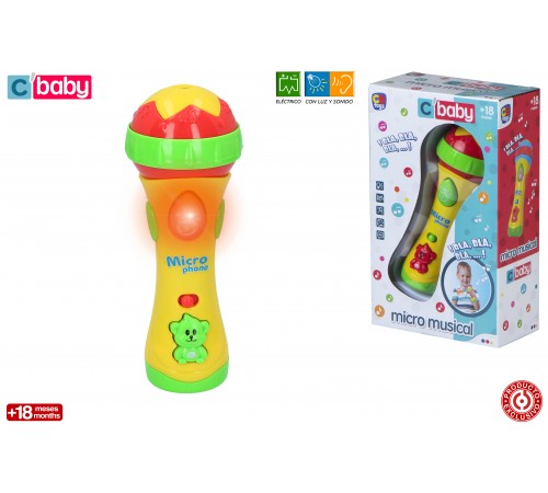 color baby 43524 Микро караоке