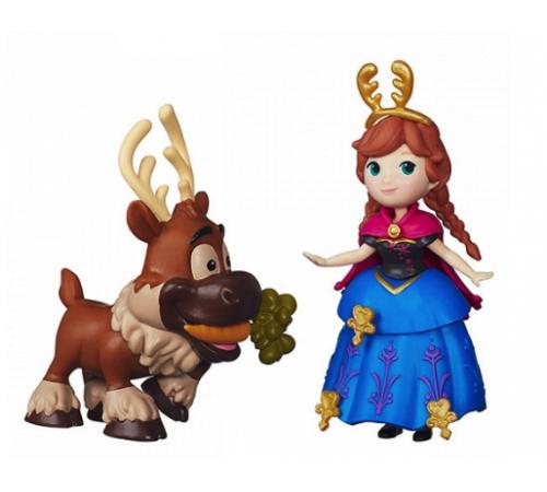 Jucării pentru Copii - Magazin Online de Jucării ieftine in Chisinau Baby-Boom in Moldova b5185 set de joc papusa frozen cu prieten in assortiment