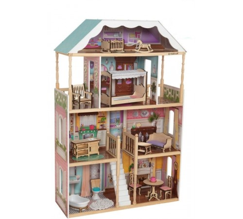 Детскиймагазин в Кишиневе в Молдове kidkraft 65956-csm Домик для кукол charlotte dollhouse