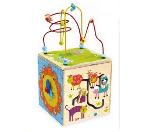 Jucării pentru Copii - Magazin Online de Jucării ieftine in Chisinau Baby-Boom in Moldova baby mix  hj-d931063 cub din lemn