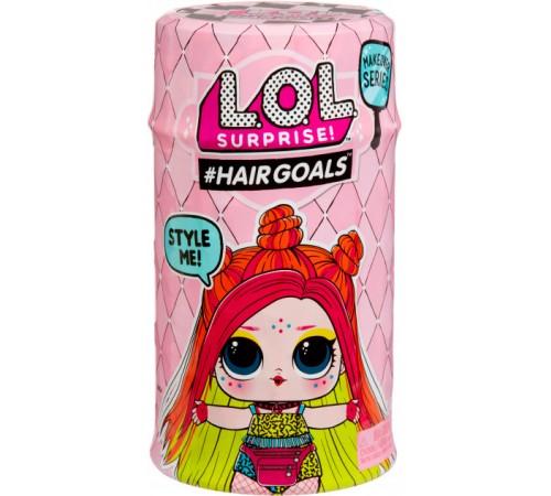 """l.o.l. 556220-w2 Игровой набор с куклой """"Модное перевоплощение"""" серии """"hairgoals"""" в асс."""