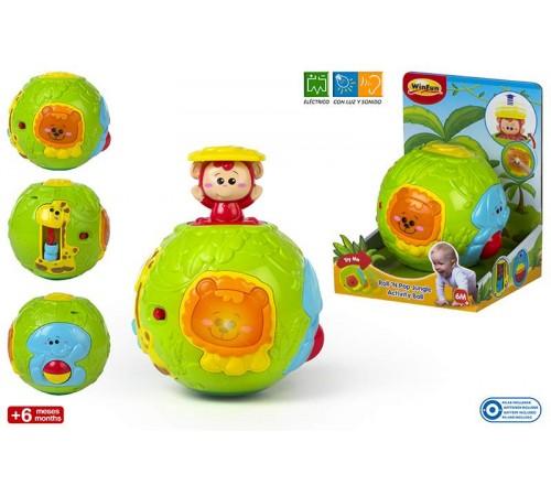 Jucării pentru Copii - Magazin Online de Jucării ieftine in Chisinau Baby-Boom in Moldova color baby 44527 minge roll&pop jungle