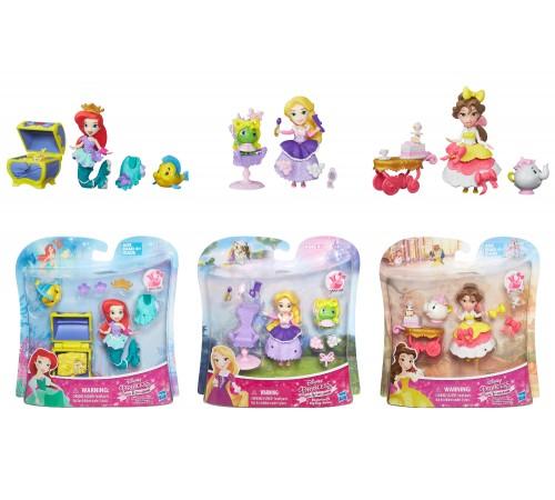 disney princess  b5331 Игровой Набор Маленькая Кукла Принцесса И Ее Друг В Ассорт.