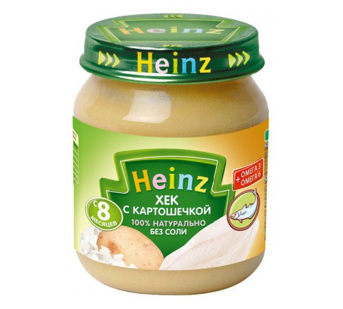 heinz Хек с картошечкой 120gr.
