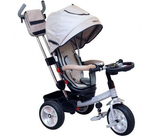 baby mix Трицикл solaris ur-et-b50 серый